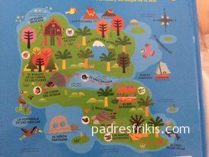 Mapa de La Isla Mágica