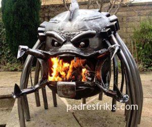 Estufa leña Alien Predator