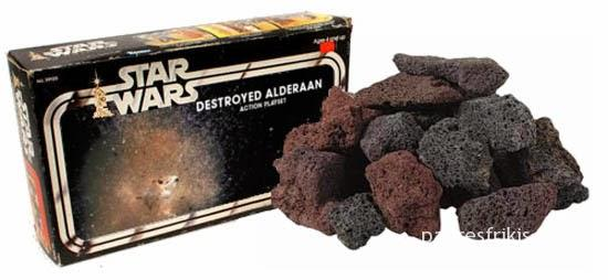 juguete destroyed alderaan