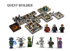 LEGO Quest Builder