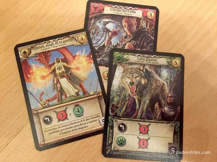 Hero Realms cartas
