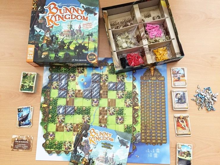 Componentes de Bunny Kingdom