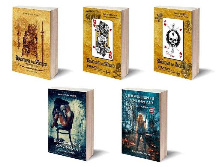 Librojuegos de David Velasco