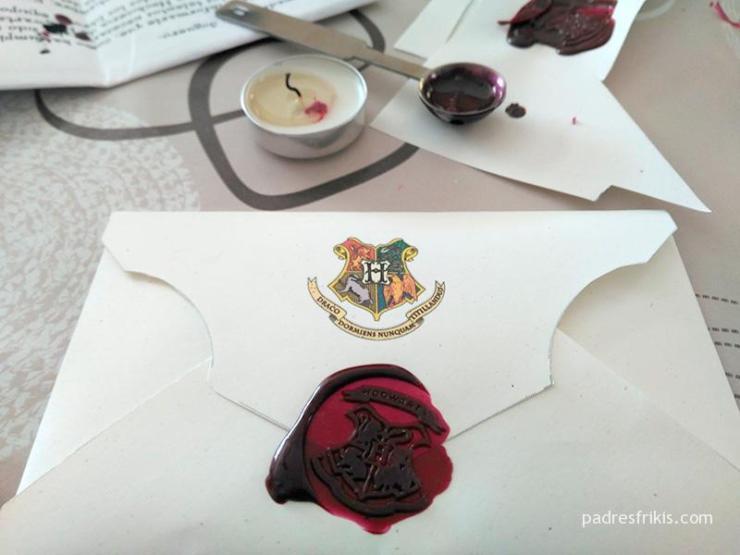 Carta de Hogwarts personalizada para imprimir