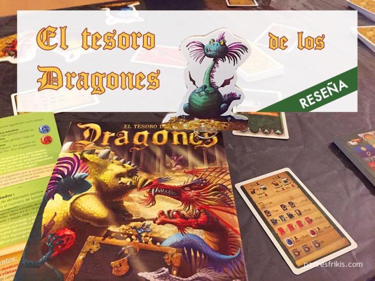 El tesoro de los dragones, juego de mesa de Tranjis Games