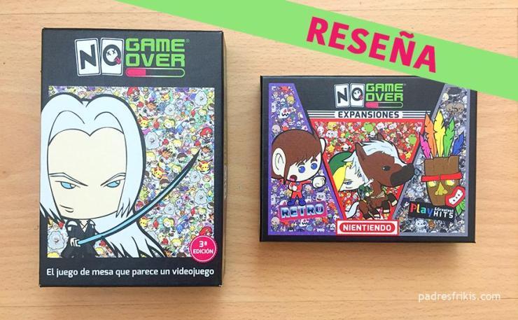 Juego de cartas - No game over