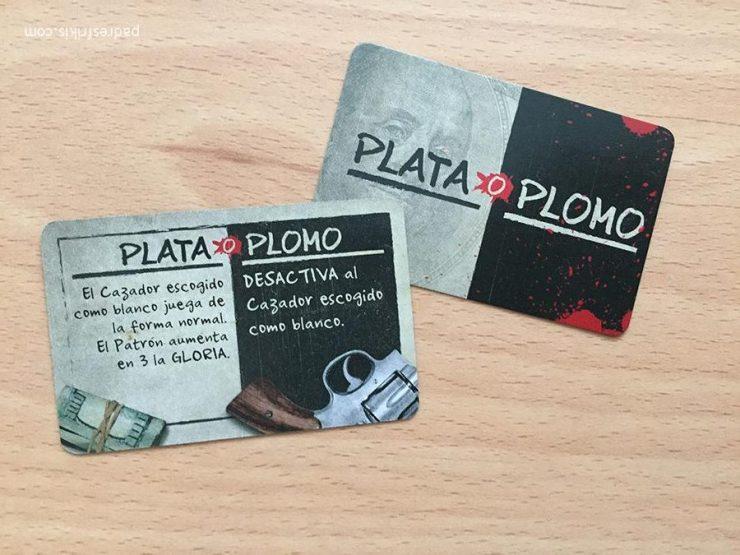 Cartas de Plata o Plomo