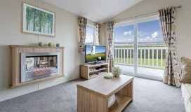 Willerby Clearwater Lodge Fireplace