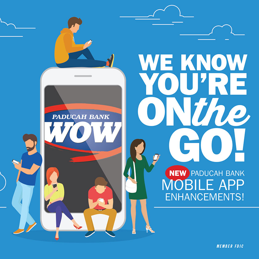 Paducah Bank Announces Digital Banking Enhancements