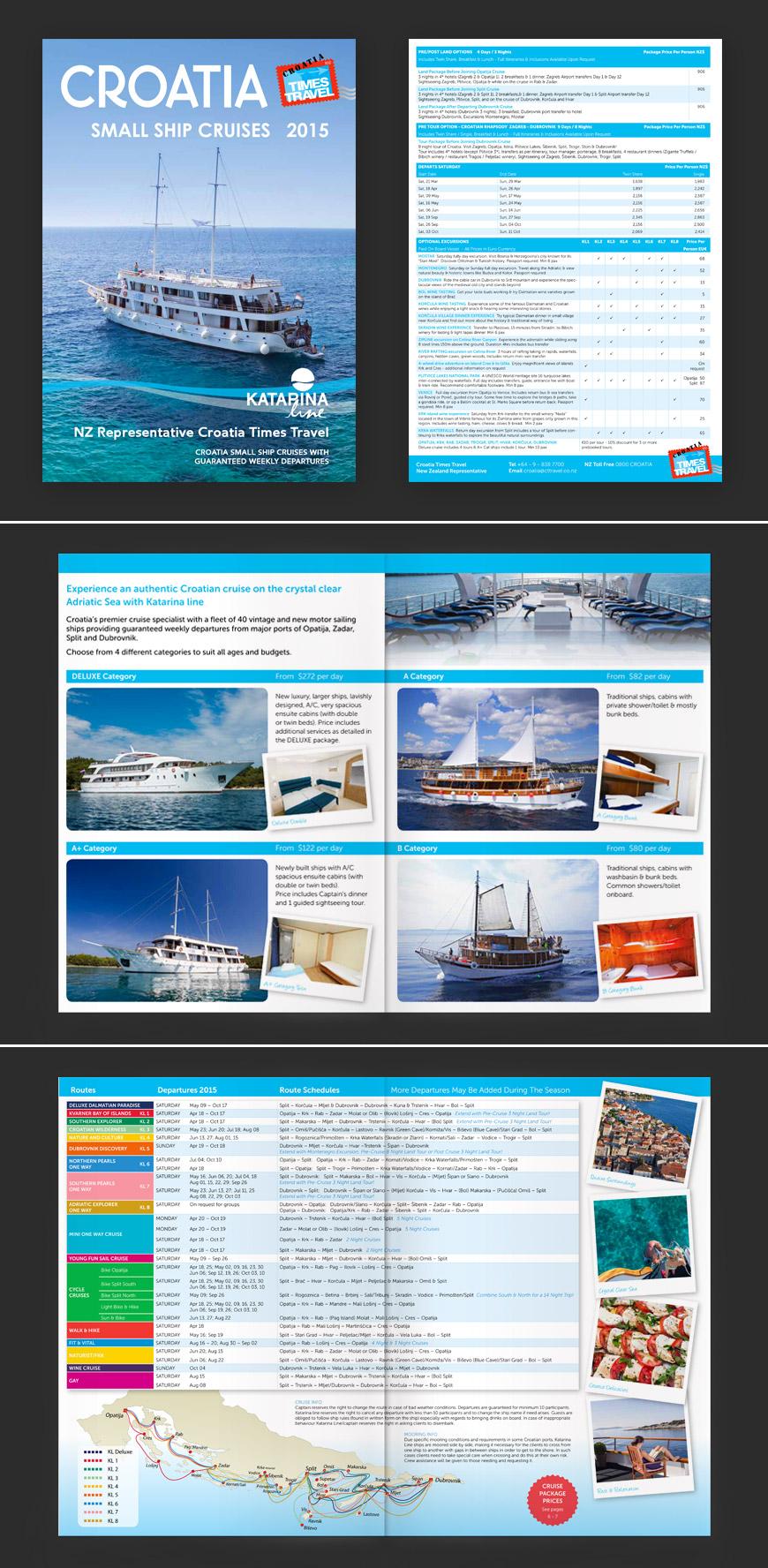 15 Folletos De Viajes Y Turismo Con Excelente Diseño