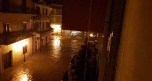 Sparanise – Città sott'acqua, negozi e case allagate: chi paga i danni? I cittadini: non è stata lanciata allerta meteo