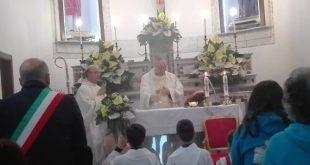 CAIANELLO – Don Luca Conforto lascia la parrocchia: commosso il saluto dei fedeli