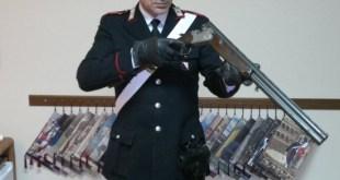 Teano – Scopre il ladro nel garage e spara due colpi di fucile, denunciato