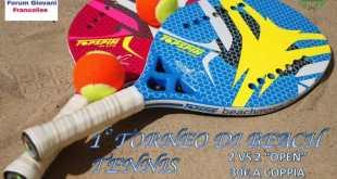 Francolise – Torneo di beach tennis, al via la prima edizione