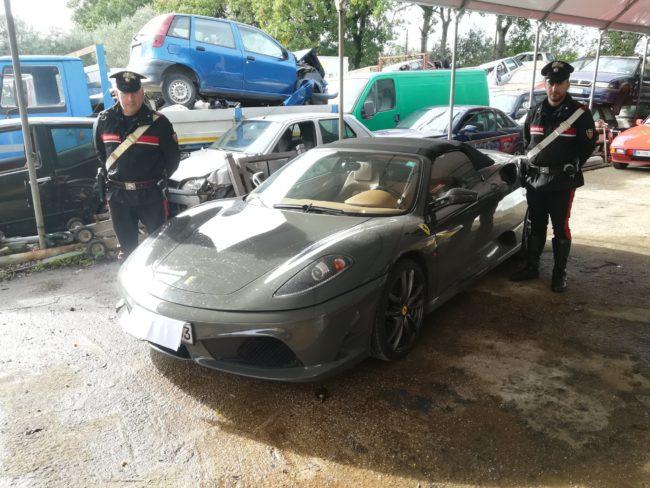 Sessa Aurunca / Minturno – Guidavano una Ferrari sequestrata in Germania, incastrati dai carabinieri - Paesenews