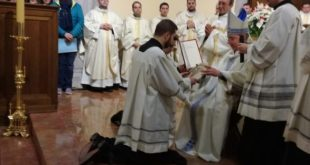 ROCCAMONFINA / VAIRANO PATENORA / PRESENZANO – Santuario dei Lattani: conferito il lettorato a Giulio e Pietro. Annunciata la Messa apertura Anno Giubilare