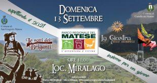 """CASTELLO DEL MATESE / SAN GREGORIO MATESE – """"Le notti dei Briganti"""" e """"La Giostra"""": le due più grandi manifestazioni del Matese insieme per un giorno"""