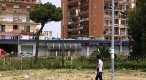 MONDRAGONE – Appicca un incendio ai Palazzi Cirio: è caccia al colpevole