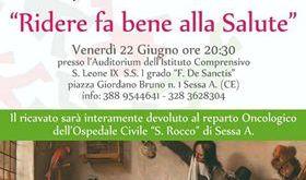 """SESSA AURUNCA – Uno spettacolo di beneficenza per il """"San Rocco"""""""