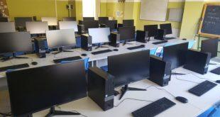Teano / Sparanise – Scuola, al Foscolo inaugurato il 19esimo laboratorio. E' il sesto di informatica
