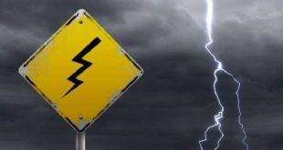 REGIONE CAMPANIA – Maltempo, allerta meteo gialla su tutto il territorio