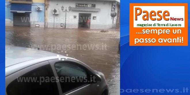 alluvione sparanise agosto 2018