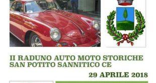 SAN POTITO SANNITICO – II EDIZIONE AUTO STORICHE A SAN POTITO SANNITICO, SARANNO OLTRE CENTO LE AUTO D'EPOCA CHE PARTECIPERANNO
