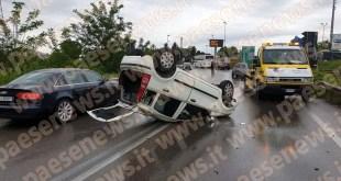 Caianello – Scontro sulla Telesina, diversi veicoli coinvolti: alcuni feriti