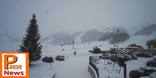campitello matese neve sulle piste