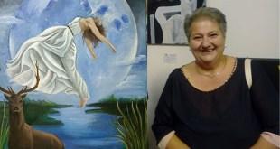 VAIRANO PATENORA / MARZANO APPIO – L'artista Carcieri espone la dea Diana al museo Calzato, in Spagna