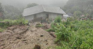 Castello Matese – Frane e allagamenti, famiglia rischia di essere sepolta dal fango (il video con l'intervista)