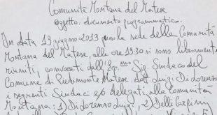 """Piedimonte Matese – Comunità Montana, e hanno il coraggio di chiamarlo """"documento programmatico"""" (ecco le prove)"""
