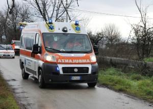 emergenza volturno ambulanza mar 2011