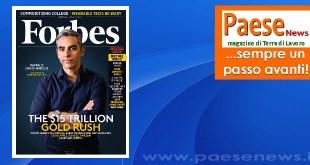 Un giovane imprenditore aversano premiato da Forbes