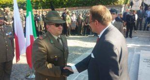 MIGNANO MONTELUNGO – Sacrario militare, cerimonia di consegna delle medaglie: Italia e Polonia unite nel ricordo