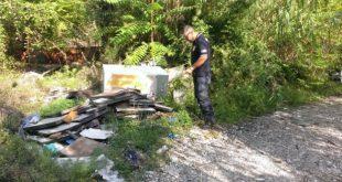 PIEDIMONTE MATESE – Abbandono rifiuti, ulteriore ricognizione del personale Gaci