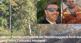 Piana di Monte Verna / Giano Vetusto – Operai feriti da una bomba, parlano i testimoni. Le novità dagli ospedali (il video con le interviste ai protagonisti)