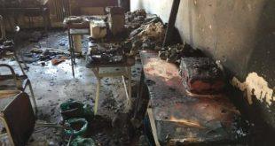 PIGNATARO MAGGIORE – Origine dolosa: l'incendio alla scuola media