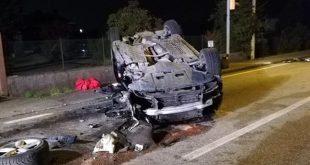 Benevento – Auto nella scarpata: ragazza muore sul colpo, tre feriti