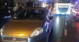 Vairano Patenora / Conca della Campania / Presenzano – Scontro fra tre veicoli lungo via Abruzzi, traffico paralizzato