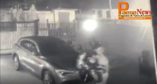 Sparanise – Ladri scatenati in paese, rubano anche i giocattoli dei bimbi (il video con l'azione dei malviventi)
