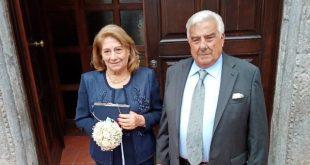 Il 50esimo anniversario di Davide e Angela