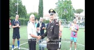 """TEANO – Memorial  Silvio Melese e Guglielmo Esposito, la squadra dei carabinieri """"ferma"""" tutti"""