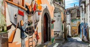 SESSA AURUNCA – Le telecamere di Rai 1 nella frazione Valogno