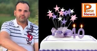 I 40 anni di Armando Palermo, gli auguri delle figlie