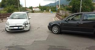 Piedimonte Matese – Scontro lungo via Canneto, disagi al traffico