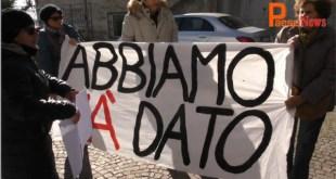 Vairano Scalo – No Turbogas, la manifestazione contro la realizzazione dell'impianto a Presenzano. Segui la diretta video