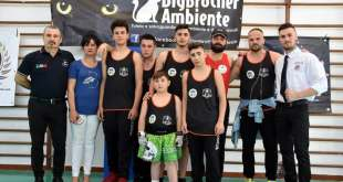 Cellole – WMKF di Kick Boxing: il Big Brother Team Sparta conquista 5 medaglie sul ring