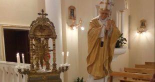 CAIAZZO / NAPOLI – Giovanni Paolo II, la reliquia del santo giunge alla parrocchia di Santa Lucia a Mare