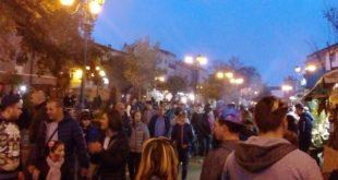 Roccamonfina – Sagra della Castagna, serata deludente: non molti visitatori e salta lo spettacolo di Covatta colto da malore. Bene la sicurezza